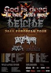 Deicide: tour europeo con Belphegor, Hour of Penance, The Amenta