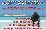 70000Tons Of Metal: ecco le prime band che saliranno a bordo
