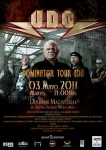 U.D.O.: video del live a Lima
