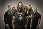 Amorphis: video footage e foto da Mosca