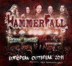 Hammerfall: footage da Stoccolma