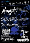 Into The Macabre: festival con Necrodeath, Excruciation, Death Mechanism