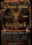 3 Inches Of Blood: in Italia per due date con i Goatwhore