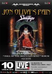 "Jon Oliva's Pain: headliner con ""Hall of the Mountanin King"" dei Savatage"