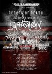 Adimiron: in tour con Suffocation, Blood Red Throne e Cattle Decapitation