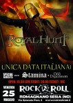 Royal Hunt: i dettagli dell'unica data italiana