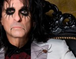 "Alice Cooper: drum-cam video di ""Dirty Diamonds"""