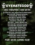 "Eyehategod: annunciano le date di ""Europe Is The New Vietnam Tour 2012"""
