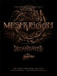 Meshuggah e Decapitated: annunciate le date del tour europeo