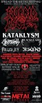 Morbid Angel, Kataklysm, Blackguard, Cryptopsy: la performance in streaming