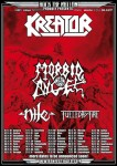 Kreator: tour europeo all&#039;isegna del 3D