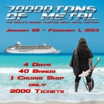 Dragonforce: salpano con la 70000tons of Metal