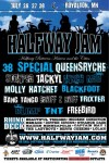 Queensrÿche: headliner all'Halfway Jam Festival