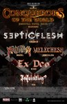 "Septicflesh, Krisiun, Melechesh, Ex Deo: insieme per il ""Conquerors Of The World"" tour"