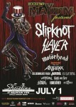 Slipknot: footage dal Rockstar Energy Drink Mayhem Festival