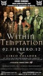 Within Temptation: il dietro le quinte del concerto in Messico