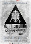 Dark Tranquillity: due date in Italia con Keep Of Kalessin e Warbringer