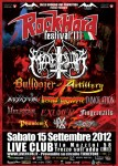 Rock Hard Festival Italia 2012: cambio di line-up
