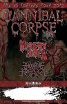 Cannibal Corpse: tour statunitense con Misery Index e Hour Of Penance
