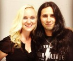 Firewind: video live della performance con Liv Kristine
