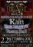 Rain, From The Depth e Raising Fear: inaugurano il Rock Circus