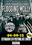 Flogging Molly: Photo report della data di Bologna