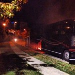 Shadows Fall: il tour bus si è incendiato