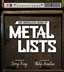 &quot;The Merciless Book Of Metal Lists&quot;: nuovo libro sull&#039;heavy metal