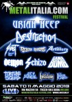 Metalitalia.com festival: Destruction co-headliner e altre conferme