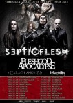 Septicflesh: annunciano il tour europeo con una data italiana