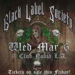 "Black Label Society: la setlist di ""Unblackened"""