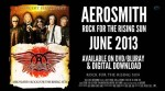 "Aerosmith: a giugno DVD ""Rock For The Rising Sun"", trailer disponibile"
