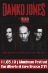 Danko Jones: al Maximum Festival l'11 maggio