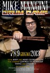 "Dream Theater: il primo ""Mike Mangini Drum Camp"" del mondo a Siena!"
