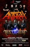 Anthrax: live DVD in arrivo