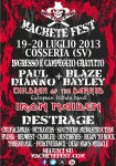 Machete Fest 2013: Paul di&#039;Anno e Blaze Bayley + Destrage: la bill completa del festival