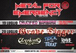 Metal For Emergency 2013: il bill completo