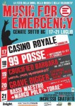 Music For Emergency: dal 17 al 21 luglio a Cenate Sotto (BG)!