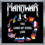 "Manowar: l'artwork di ""The Lord Of Steel Live"""