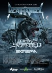 Extrema: tour europeo con i Death Angel e due date in Italia