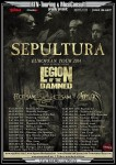 Sepultura: tour europeo, nessuna data in Italia