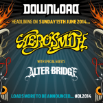 Download 2014: confermati Aerosmith headliner ed Alter Bridge