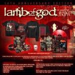 "Lamb Of God: ascolta in streaming ""As The Palaces Burn"" 10th-anniversary edition"