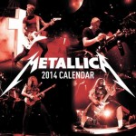Metallica: disponibile il calendario 2014