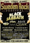 Sweden Rock Festival: i Black Sabbath headliner