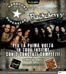 Hardcore Superstar + Buckcherry: Live report delle date italiane
