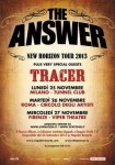 The Answer + Tracer: live report della data di Milano