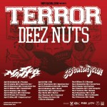 Terror e Deez Nuts: tour europeo con una data in Italia