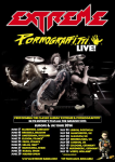 Extreme: i VIP Packages per il tour europeo