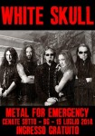 Metal For Emergency 2014: confermati i White Skull